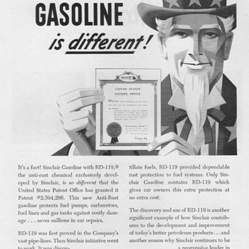 1952 - Sinclair Oil Co. Advertisement