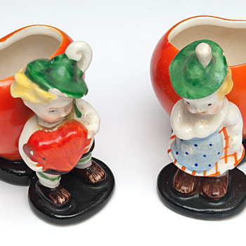 Vintage porcelain figurines pre war Germany