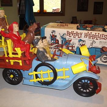 Rare 1963 Beverly Hillbillies Car Playset W / Original Box
