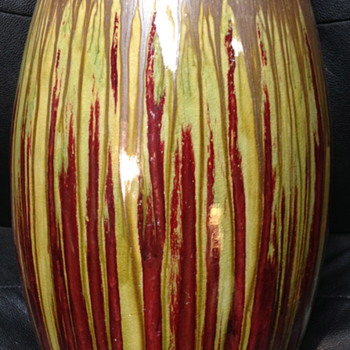 One of the best made and looking stoneware vases I've ever seen!