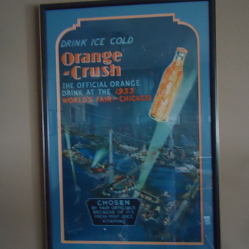 Orange Crush, 1933 worlds fair stand-up
