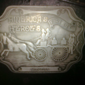 belt buckle found among some of my uncles things. does it have any value? before I trash it?