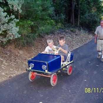 1960'S  Pedal Car
