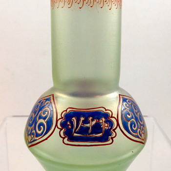 Loetz Olympia, PN II-2829, enameled  - Art Glass