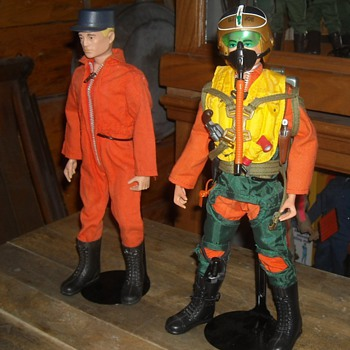 GI Joe Fighter Pilot and Basic Action Pilot - Toys