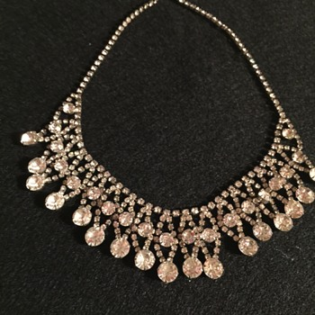 Lovely Rhinestone Necklace