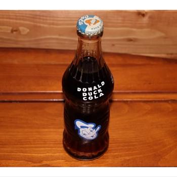 1950s Donald Duck soda