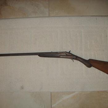 Antique unknown firearm