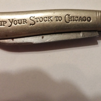 The Chicago Live Stock Exchange Jack Knife