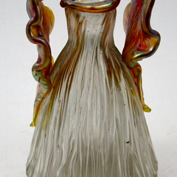 Loetz Gloria cabinet vase, PN II-1813, ca. 1904 - Art Glass
