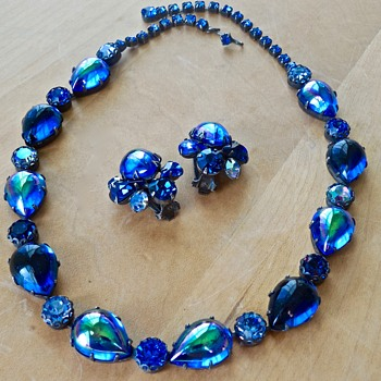 My Blue Heaven Regency Necklace & Earrings