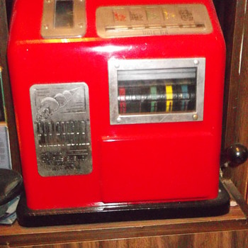 Shelspeshel Poker Machine - Charles Shelley Pty Ltd. Australia 1947? - Coin Operated