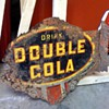 Double Cola Sign