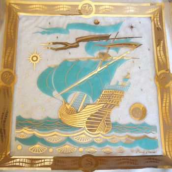 Fred Press Nautical Glass Tray - Kitchen