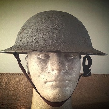 U.S. M1917 steel helmet  - Military and Wartime