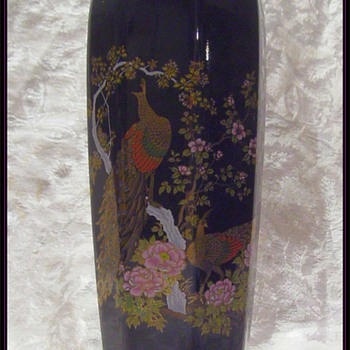 Japanese Ceramic Vase  - Asian
