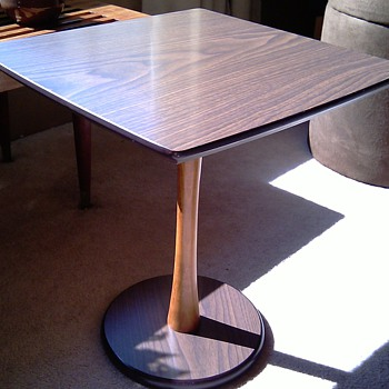 Small Mid Century Danish Modern Style Table