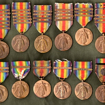 The WWI Victory Medal Series  United States - Military and Wartime