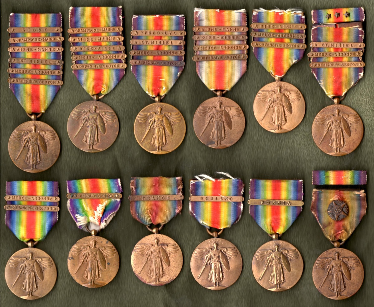 The WWI Victory Medal Series United States