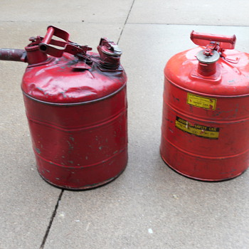 Antique Gas Cans - Petroliana