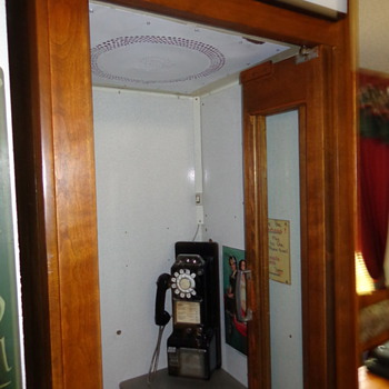 My prized phone booth - Telephones