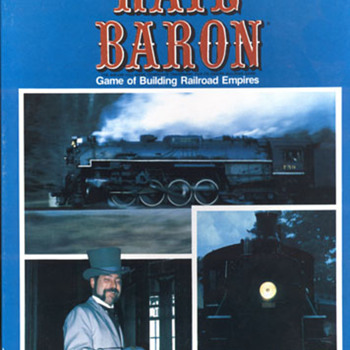 Rail Baron Vintage Board Game - Games