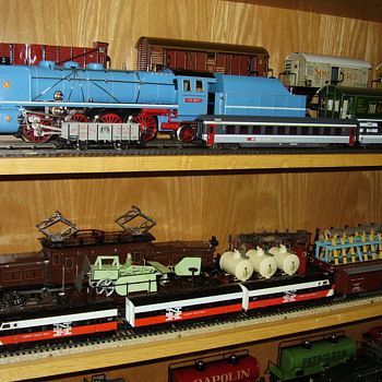 Some of my Marklin locomotives from way back...