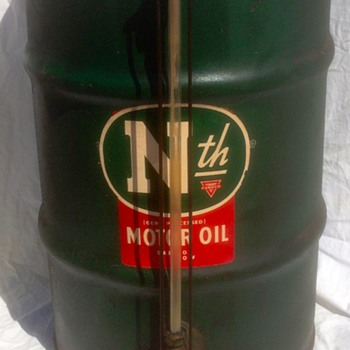 N th conoco Phillips Motor oil Dealer dispensing barrel ?