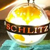 1968 Schlitz rotating globe light