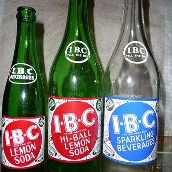 More I.B.C. Bottles