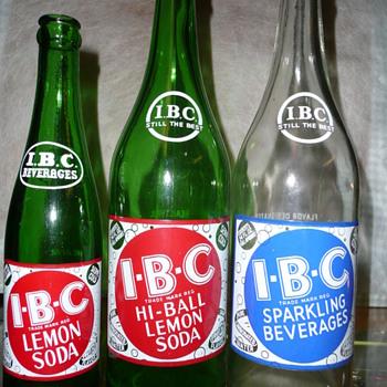 More I.B.C. Bottles