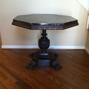 Mother's Antique Octagon Center Table - Furniture