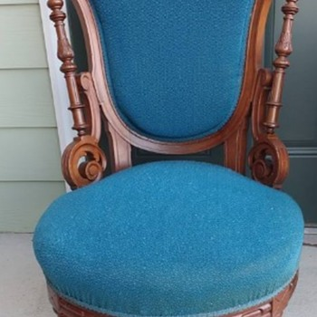 Got this Chair at an Estate Sale