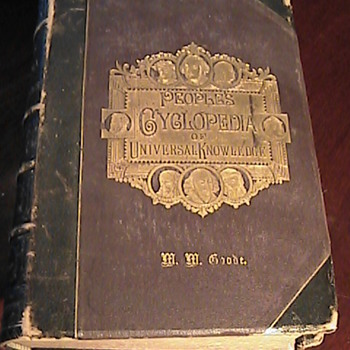 Todays Goodwill Find! Peoples Cyclopedia Of Universal Knowledge