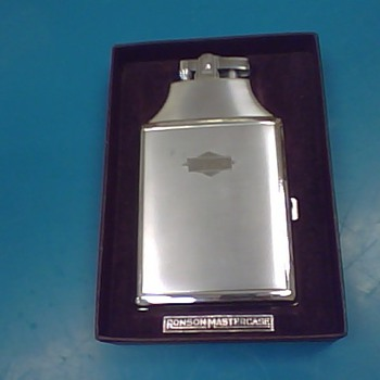 Ronson Mastercase Lighter - Tobacciana