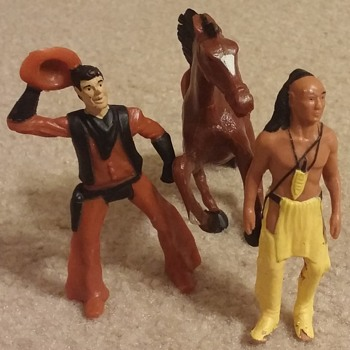 Indian in the cupboard figurine toys