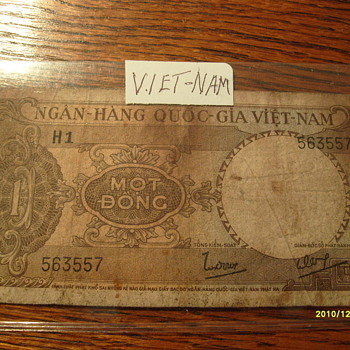 Viet-Nam 5 Cent Paper Money