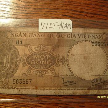 Viet-Nam 5 Cent Paper Money