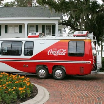 Coca-Cola Gadabout GMC Motor Home! - Coca-Cola