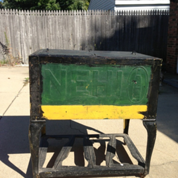 Nehi Ice Chest