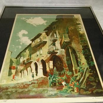 EZEQUIEL TORROELLA LITHOGRAPH - Posters and Prints