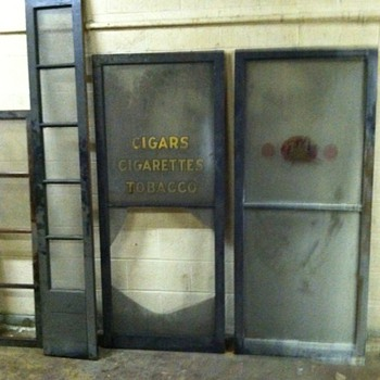 tobacco storefront  - Tobacciana