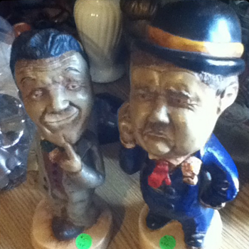 Laurel & Hardy  - Figurines