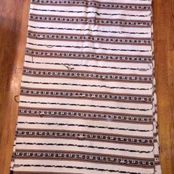 Vintage Ethnic Blanket - Native American