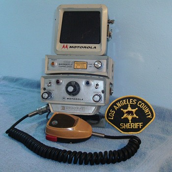 Motorola Motrac radio head