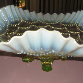 Depression glass dish