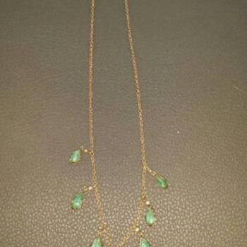 jade necklace  - Fine Jewelry