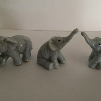 Mini Elephant Figurines