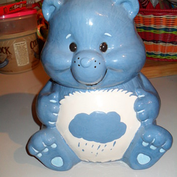 care bear cooking jar, and an unknown cookie jar, - Kitchen