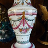late 18th century vase milchglas Bohemian, maybe Harrach